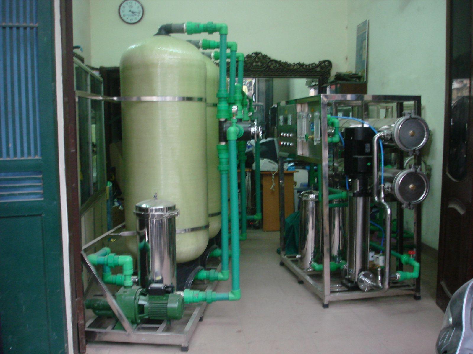 Giá bán hệ thống lọc nước công nghiệp