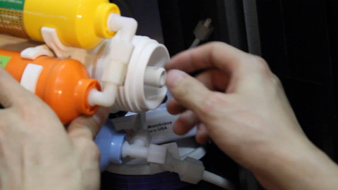 vệ sinh máy lọc nước