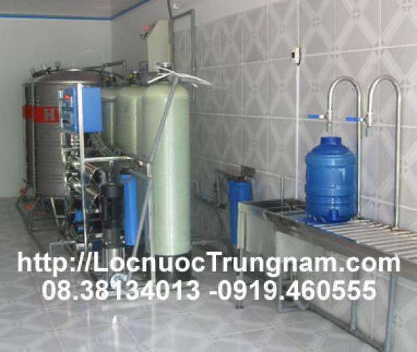 Dây chuyền hệ thống lọc nước đóng chai