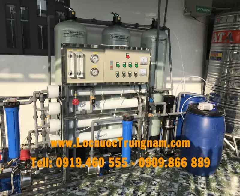 Hệ thống lọc nước nhiễm mặn để phục vụ sản xuất