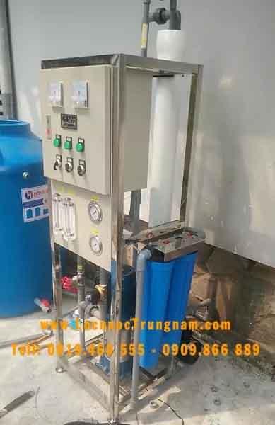 Hệ thống lọc nước nhiễm mặn để phục vụ sinh hoạt
