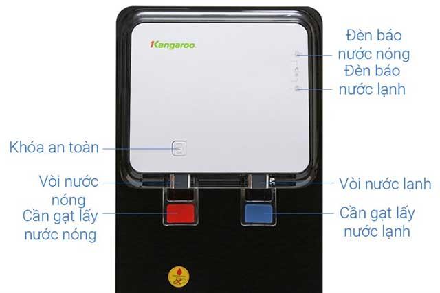 Máy lọc nước RO nóng lạnh Kangaroo KG61A3 5 lõi