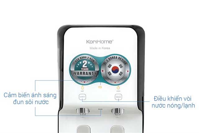 Máy lọc nước RO nóng lạnh Korihome WPK-838 5 lõi